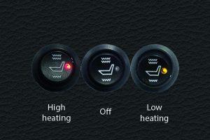 Seat Heating Knob