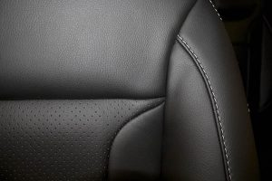 Alba eco-leather Zwart Perforatie 2