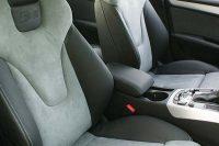 Audi S5 Buffalino Leder Zwart Alcantara Grijs Voorstoelen