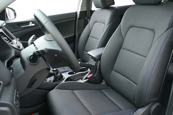 Hyundai Tucson Leather Seats Alba Eco Leather Black Alba