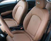 MINI Cooper Alba eco-leather Kaneelbruin Voorstoelen Stuurwiel